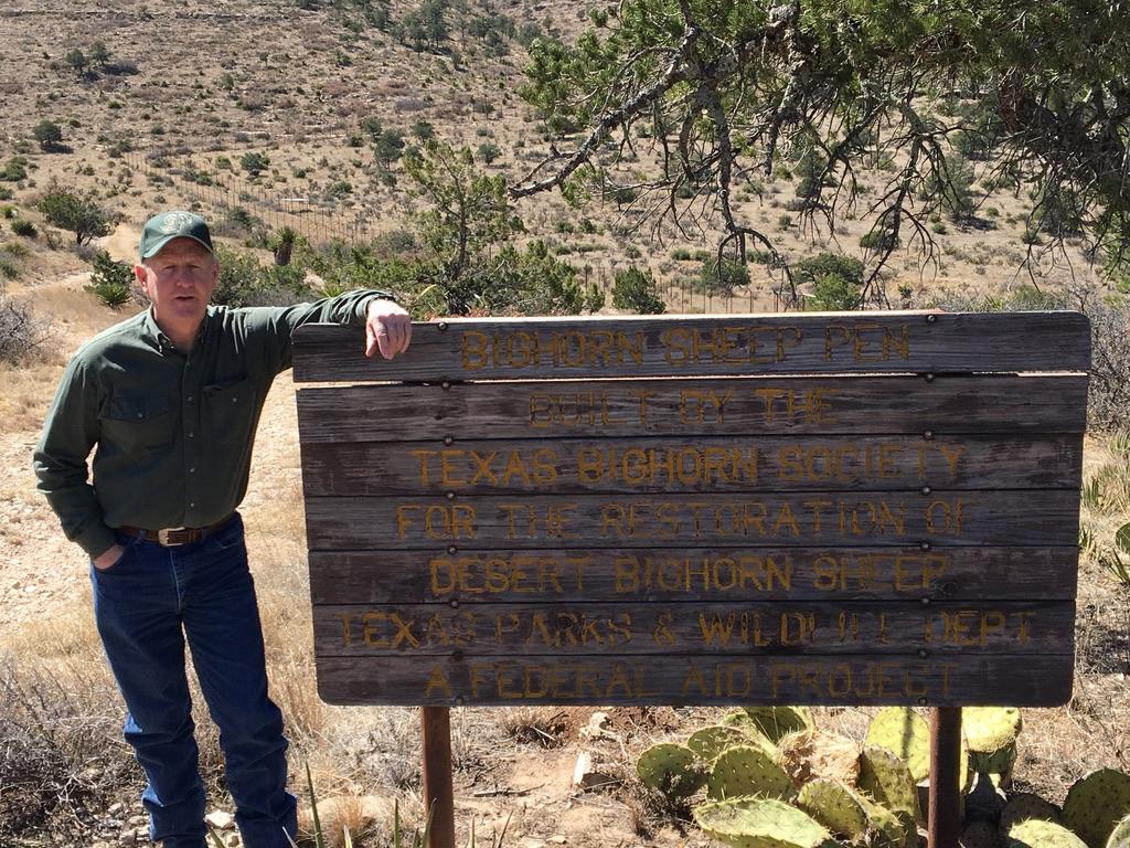 Clay Brewer-Texas Bighorn Society Propagation Facility